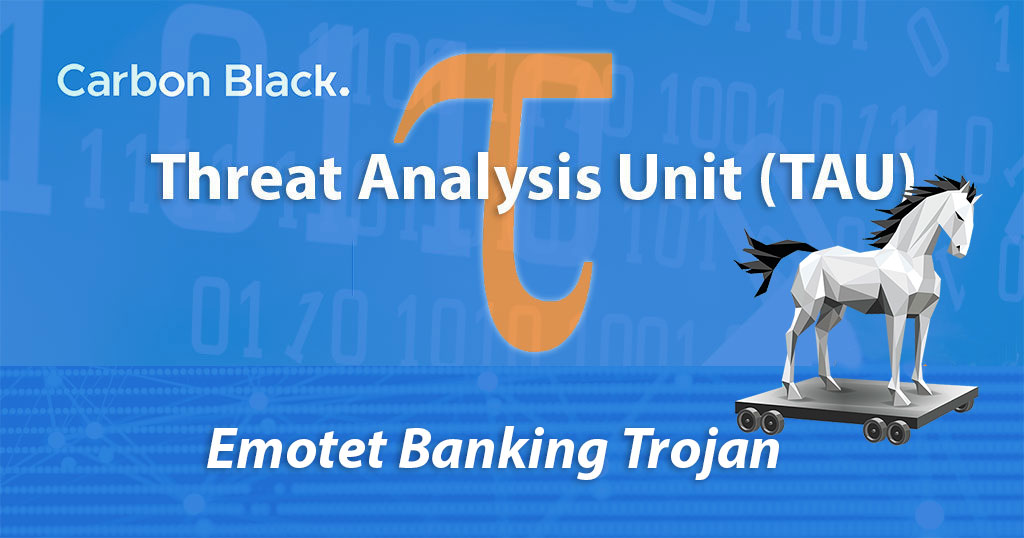 Carbon Black Tau Threat Analysis Emotet Banking Trojan