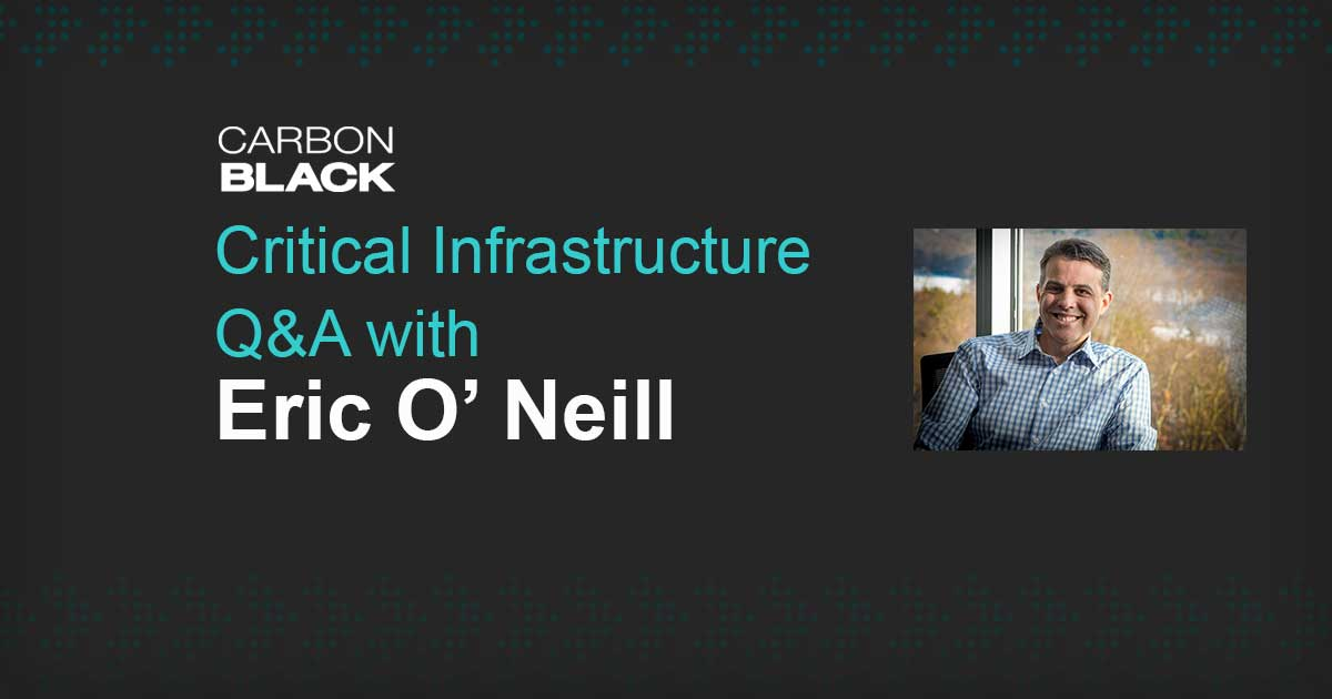 Critical Infrastructure Q&A with National Security Strategist Eric O' Neill