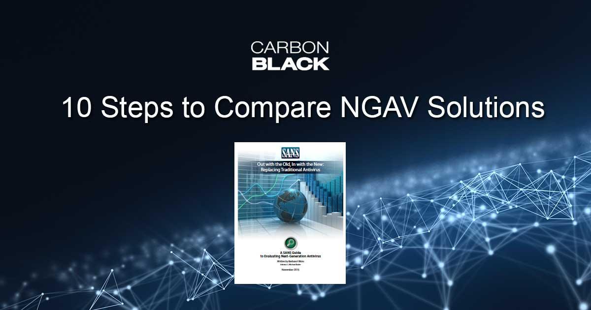 10 Steps To Compare Next Generation Antivirus Ngav