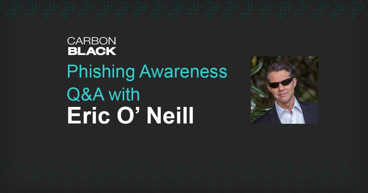 Phishing Awareness Q&A with Eric O' Neill