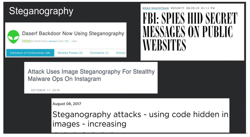 Steganography in the Modern Attack Landscape | Carbon Black